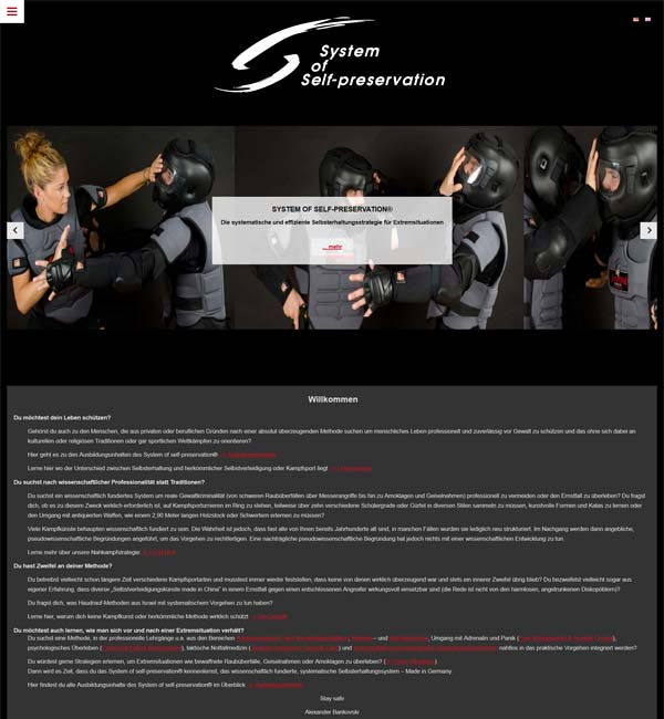 homepage baukasten für firmen